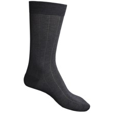 Pantherella Dress Socks - Egyptian Cotton (For Men) in Dark Grey - Closeouts