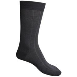Pantherella Dress Socks - Egyptian Cotton, Mid Calf (For Men) in Light Khaki