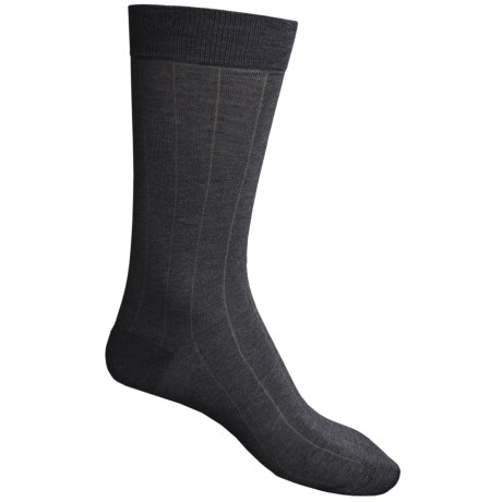 Pantherella Dress Socks - Egyptian Cotton, Mid Calf (For Men) in Black