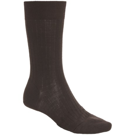 Pantherella Mid-Calf Dress Socks - Merino Wool Blend (For Men)
