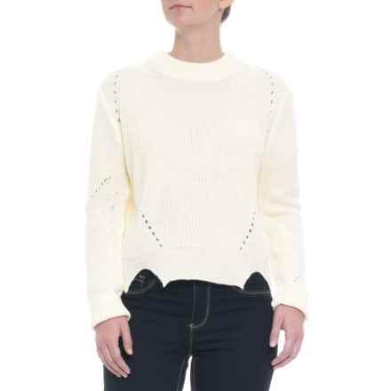 Paperheart Australian Designer Knit Sweater - (For Women) in White - Closeouts
