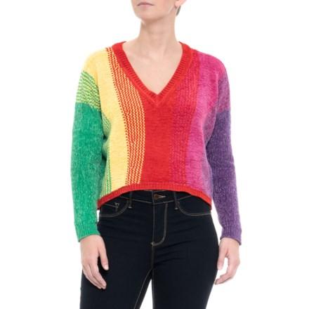e4b14666021a1d Paperheart Australian Designer Rainbow Sweater (For Women) in Multi -  Closeouts