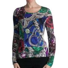 Paperwhite Pullover Printed Shirt - Long Sleeve (For Women) in Multi Paisley - Closeouts