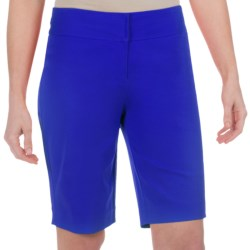 Paperwhite Shorts - Stretch Cotton (For Women) in Sunkist