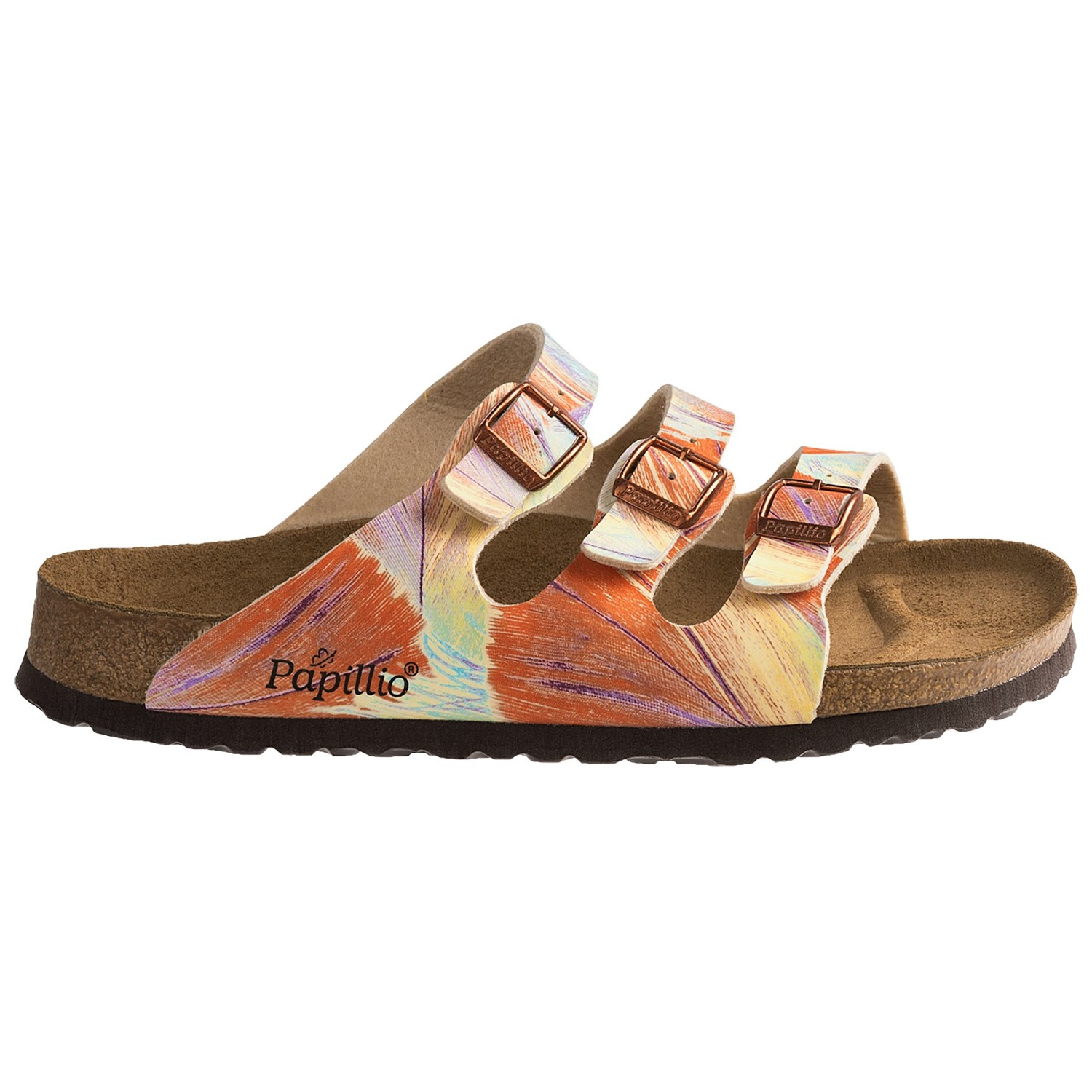 Birking 's by Birkenstock Mahe Hologram Sandals Page 1 QVC