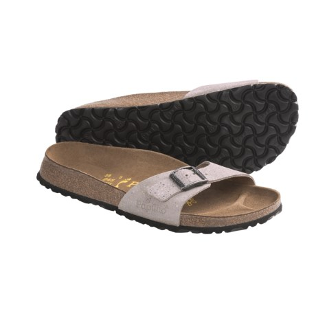 Papillio by Birkenstock Madrid Sandals (For Women) in Pebble Grey