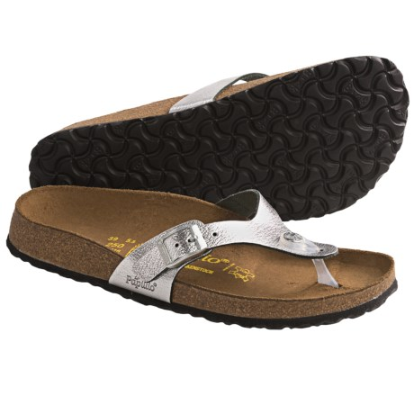 stylish sandal papillio by birkenstock turin sandals metallic leather for women review. Black Bedroom Furniture Sets. Home Design Ideas
