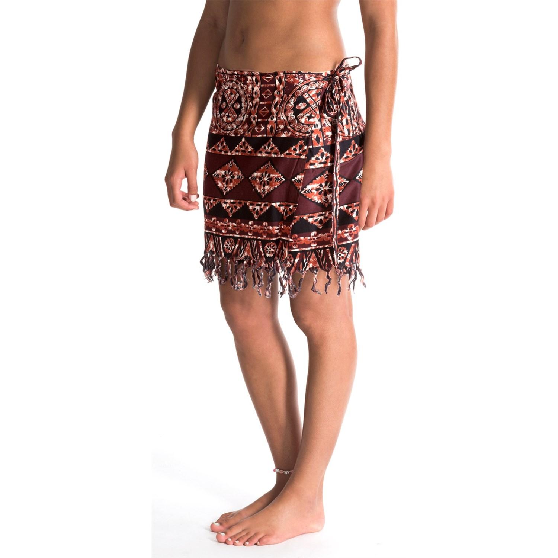 pareos wrap skirt for save 58