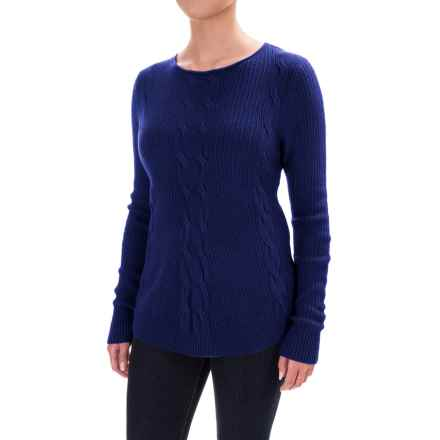 Parkhurst Barbara Cable-Knit Sweater (For Women) in Indigo - Closeouts