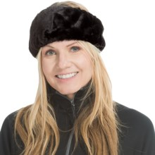 Parkhurst Faux-Fur Headband (For Women) in Black Beaver - Closeouts