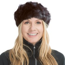 Parkhurst Faux-Fur Headband (For Women) in Cobbleston - Closeouts