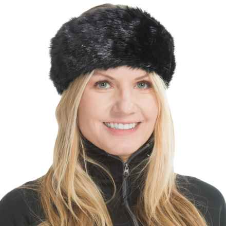 Parkhurst Faux-Fur Headband (For Women) in Midnight Mink - Closeouts