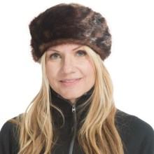 Parkhurst Faux-Fur Headband (For Women) in Mink Sable - Closeouts