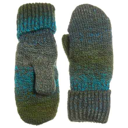 Parkhurst Harvest Fleece-Lined Mittens (For Women) in Earthy Green - Closeouts