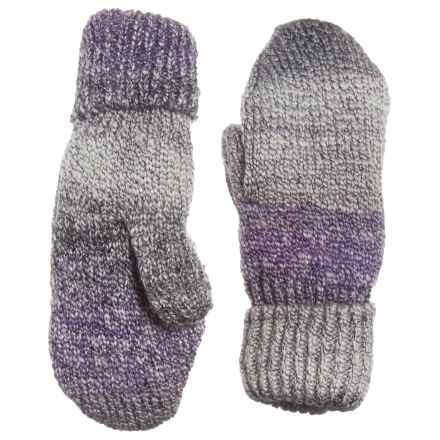 Parkhurst Harvest Fleece-Lined Mittens (For Women) in Grey Twilight - Closeouts