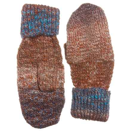 Parkhurst Harvest Mittens (For Women) in Tobacco Spacedye - Closeouts