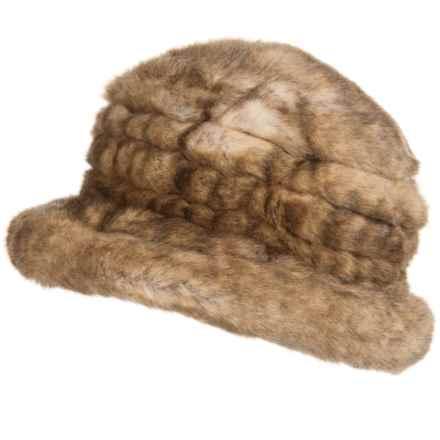 Parkhurst Jacqueline Faux-Fur Hat (For Women) in Alsatian - Closeouts