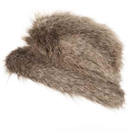 Parkhurst Jacqueline Faux-Fur Hat (For Women) in Coywolf - Closeouts
