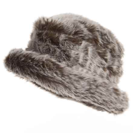 Parkhurst Jacqueline Faux-Fur Hat (For Women) in Husky Long Hair - Closeouts