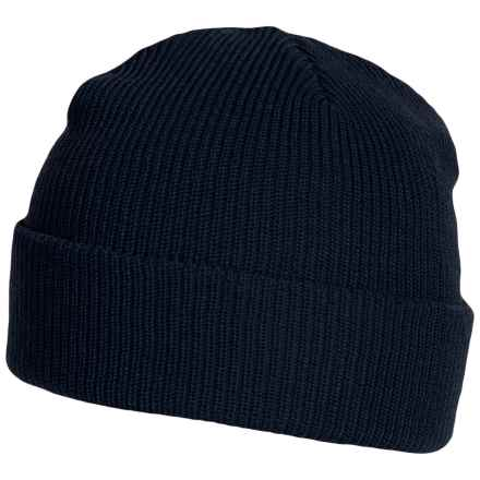 Parkhurst Merino Wool Beanie (For Women) in Light Navy - Overstock
