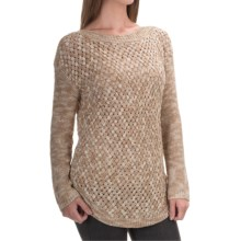 Parkhurst Meryl Tape-Yarn Tunic Sweater (For Women) in Brule Mix - Overstock