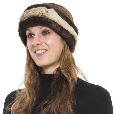 Parkhurst Reversible Faux-Fur Headband (For Women) in Russian  Sable/Timberland - Closeouts