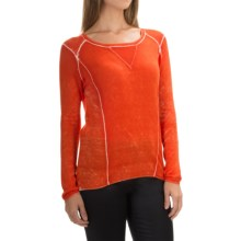 Parkhurst Rhandi Sweatshirt (For Women) in Papaya - Overstock