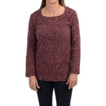 Parkhurst Square Neck Sweater (For Women) in Prima Berry - Closeouts