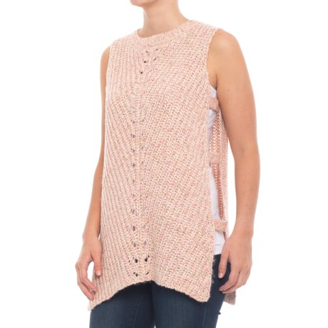 Parkhurst Vivienne Tabard Vest (For Women) in Pink Multi