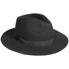Parkhurst Wool Safari Hat (For Women) in Black - Overstock
