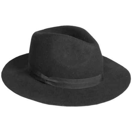 Parkhurst Wool Safari Hat (For Women) in Black - Overstock