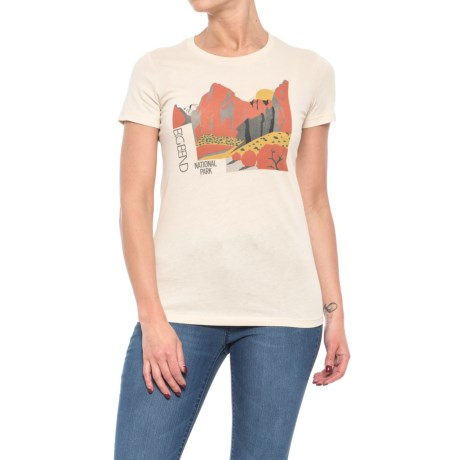 Parks Project Big Bend Sunset T-Shirt - Short Sleeve (For Women) in Yellow