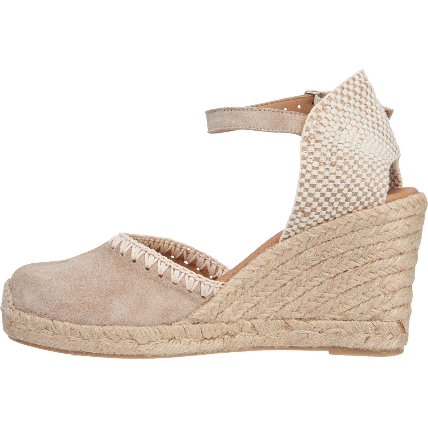 f40d770a5a5 PASEART Made in Spain Embroidered Wedge Espadrilles - Suede (For Women)