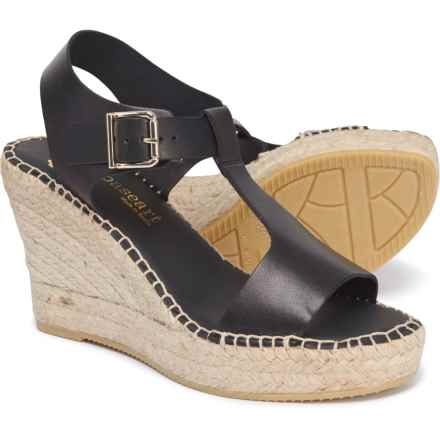8fbaed8ec3d PASEART Made in Spain Embroidered Wedge Espadrilles (For Women ...
