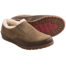 Patagonia Activist Fleece Moccasins - Leather, Fleece Lining (For Women) in Canteen - Closeouts