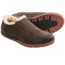 Patagonia Activist Fleece Moccasins - Leather (For Men) in Espresso - Closeouts