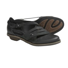 Patagonia Addie Weave Sandals - Nubuck, Leather, Recycled Materials (For Women) in Black - Closeouts