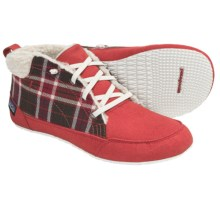 Patagonia Advocate Chukka Boots - Recycled Materials (For Women) in Red Delicious Plaid - Closeouts