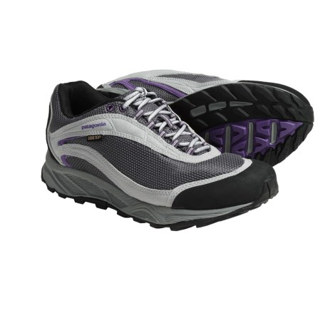 Patagonia Arrant Gore-Tex® Trail Running Shoes - Waterproof, Leather (For Women) in Blackberry
