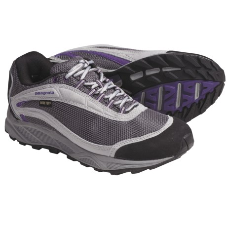 Patagonia Arrant Gore-Tex® Trail Running Shoes - Waterproof, Recycled Materials (For Women) in Blackberry