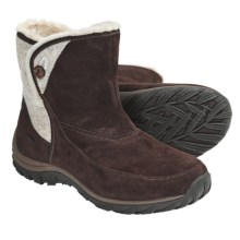 Patagonia Attlee Snap Winter Boots - Waterproof, Recycled Materials (For Women) in Espresso - Closeouts
