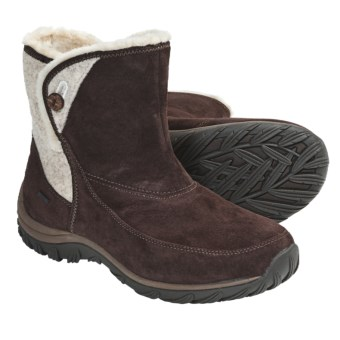 Patagonia Attlee Snap Winter Boots - Waterproof, Recycled Materials (For Women) in Espresso