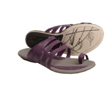 Patagonia Bandha Slice Sandals - Leather (For Women) in Currant - Closeouts