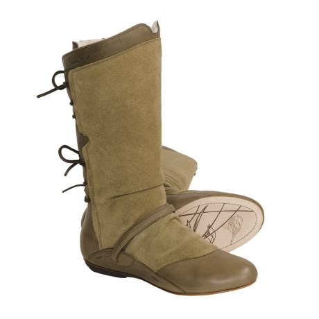 Patagonia Bandha Tie Boots (For Women) in Dried Vanilla