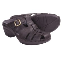 Patagonia Better Clog Lattice Clogs - Leather (For Women) in Deep Espresso - Closeouts