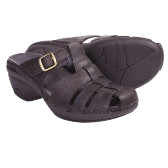 Patagonia Better Clog Lattice Clogs - Leather (For Women) in Deep Espresso