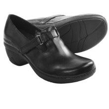 Patagonia Better Clog Smooth Mary Jane Shoes - Leather (For Women) in Black Smooth - Closeouts