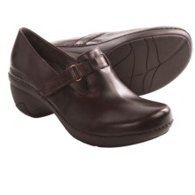 Patagonia Better Clog Smooth Mary Jane Shoes - Leather (For Women) in Sable Brown Smooth - Closeouts