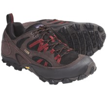 Patagonia Drifter AC Gore-Tex® Hiking Shoes - Waterproof, Nubuck (For Men) in Espresso/Goji - Closeouts