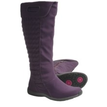 Patagonia Fiona High Winter Boots - Insulated, Quilted, Side-Zip (For Women) in Deep Plum - Closeouts